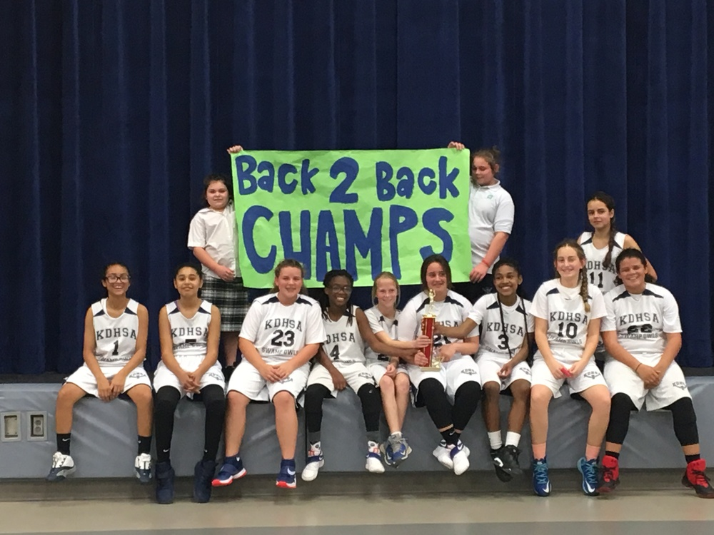 Girls Basketball: Back to Back Champions
