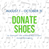 Donate Shoes to Fund our Music Program!